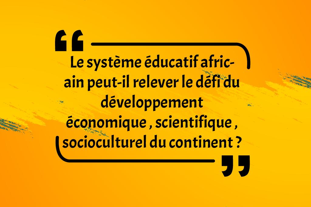 非洲教育体系能否应对青年挑战大陆的经济科学社会文化发展的挑战