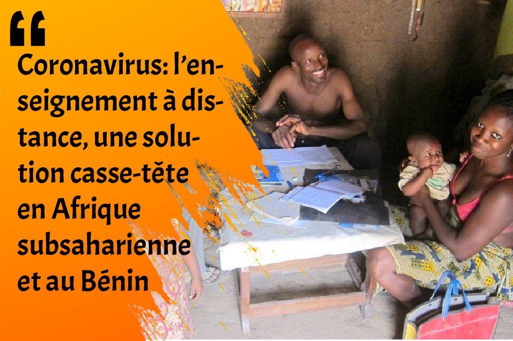 冠状病毒l'在非洲,一个挑战性的远距离学习,一种益智解决方案